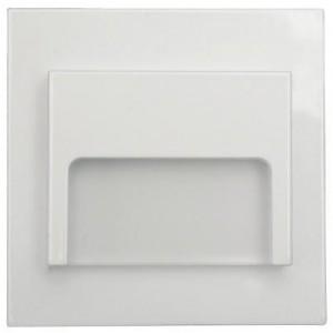 LED nástěnné schodišťové svítidlo ONTARIO bílé 1,5W 9xSMD3014 12V DC studená bílá